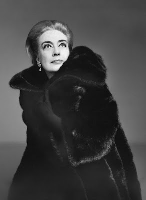 Joan Crawford Blackglama ad