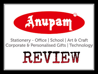 Anupam Stationery Superstore Review // Mini Stationery Haul! image