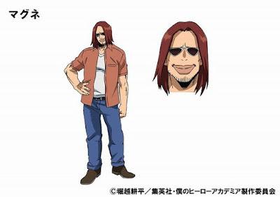 """Satoru Inoue como Magne, cuyo Quirk es """"Magnetismo"""""""