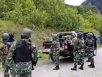 Kontak Tembak Di Puncak, Aparat TNI-Porli Tembak 3 Teroris OPM, 1 Tewas