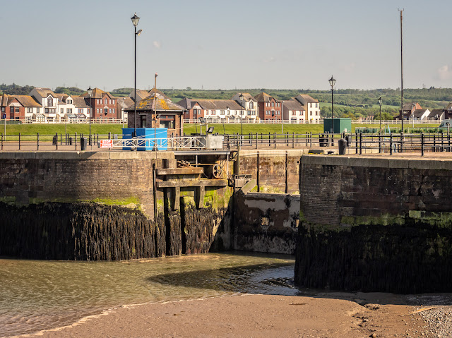 Photo of Maryport Marina gate