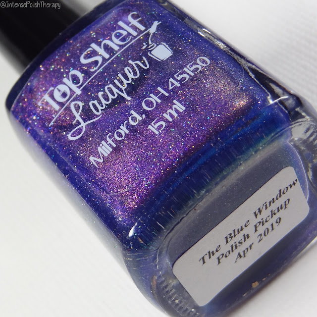 Top Shelf Lacquer The Blue Window | April Polish Pickup 2019