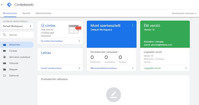 Hogyan tedd hatékonyabbá weboldal méréseidet a Google Tag Manager-rel?