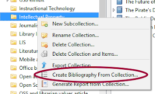 Zotero Create Bibliography from Attachment - Clevious Discourse