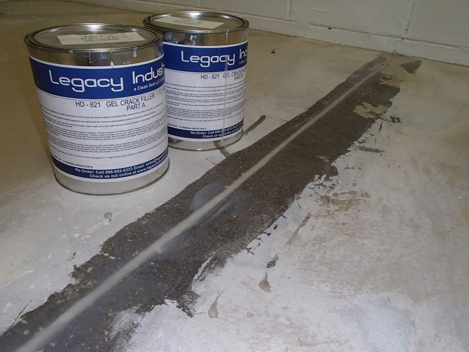 Epoxy Garage Floor Expansion Joints Legacy Industrial S Blog Site Filling Expansion Cuts Joints For
