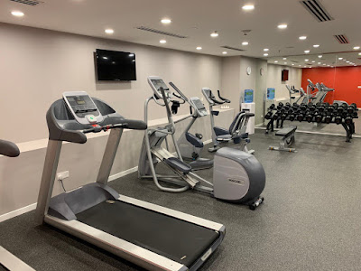 Fitness centre at Hilton Garden Inn Kuala Lumpur North