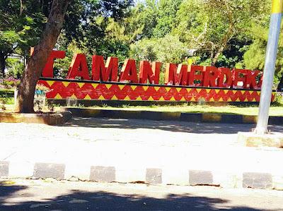 Taman Merdeka Metro Lampung