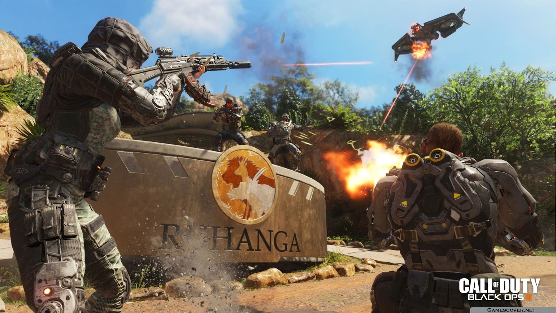 Cod Black Ops 3 Wallpaper: Call Of Duty Black Ops III Wallpapers