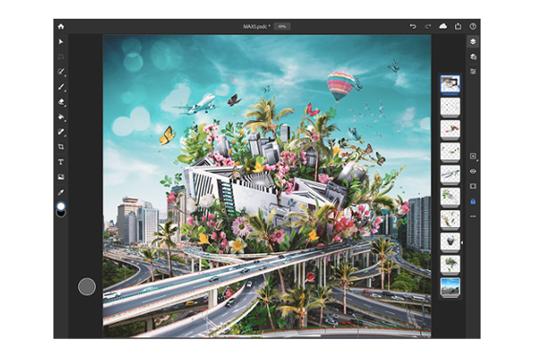 Adobe MAX 2019: Adobe Photoshop comes to the iPad