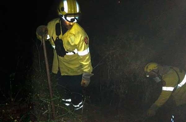 Ha sido controlado el incendio de Valleseco y uno más que surgió en Lomo Gallego, San Mateo
