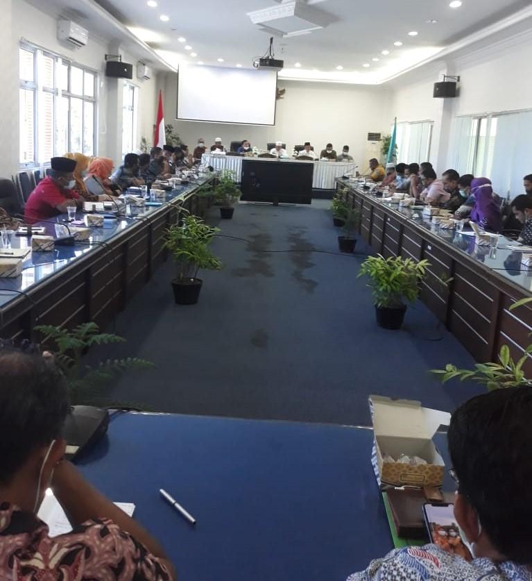 Dalam Rapat Koordinasi, Bupati Pasaman Barat Beberkan Program 100 Hari Kerja