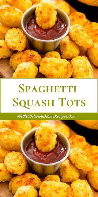 Spaghetti Squash Tots