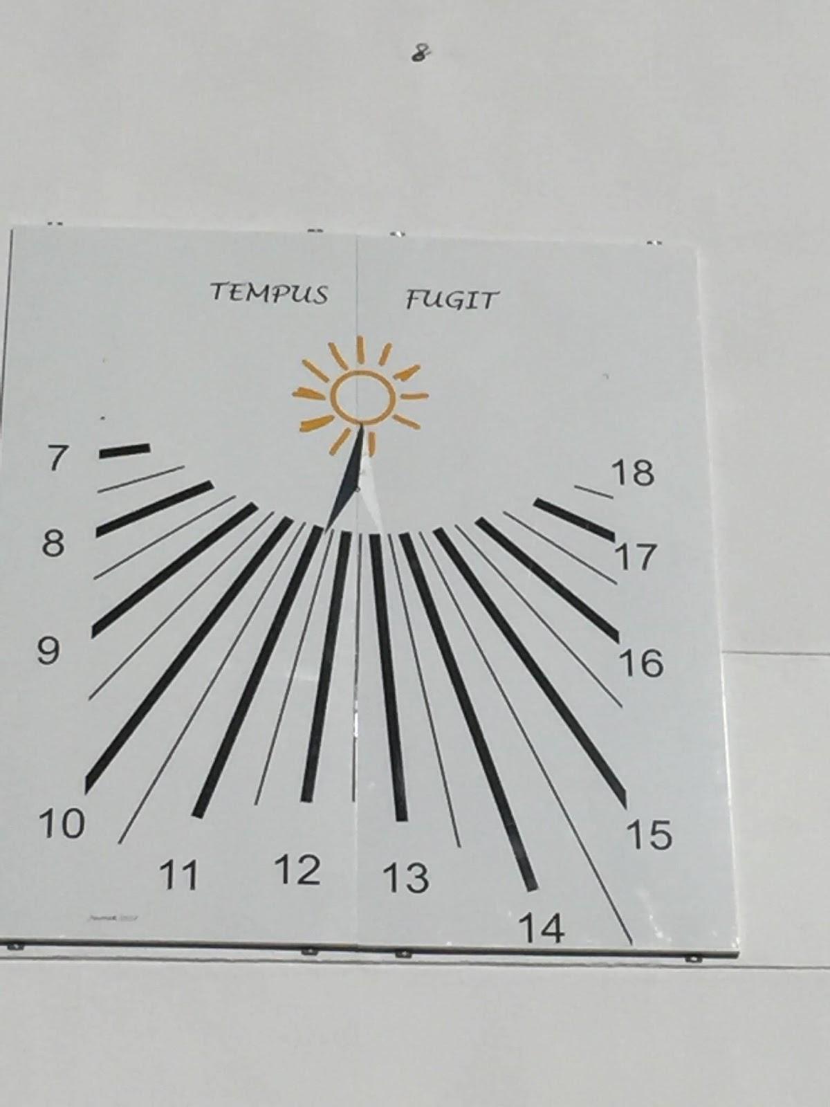 7d6e0a06d7b Estação Cronográfica  Novo relógio de sol monumental na zona de ...