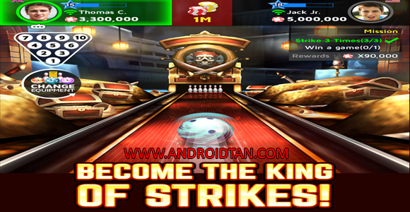 Free Download Bowling King Mod Apk v1.40.19 Terbaru 2017