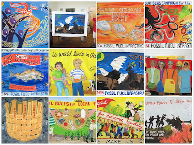 ARRT! Posters, Union of Maine Visual Artists