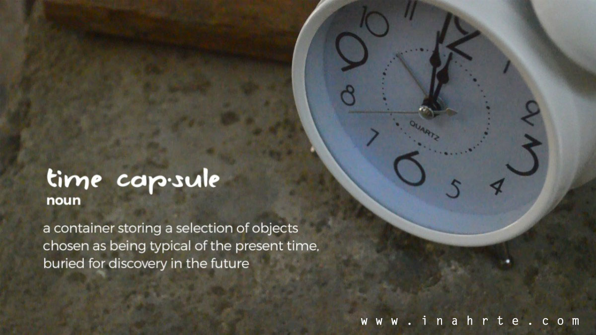Time capsule definition