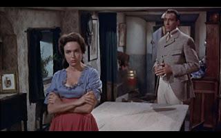 Cecille y Henry Baskerville El perro de los Baskerville 1959