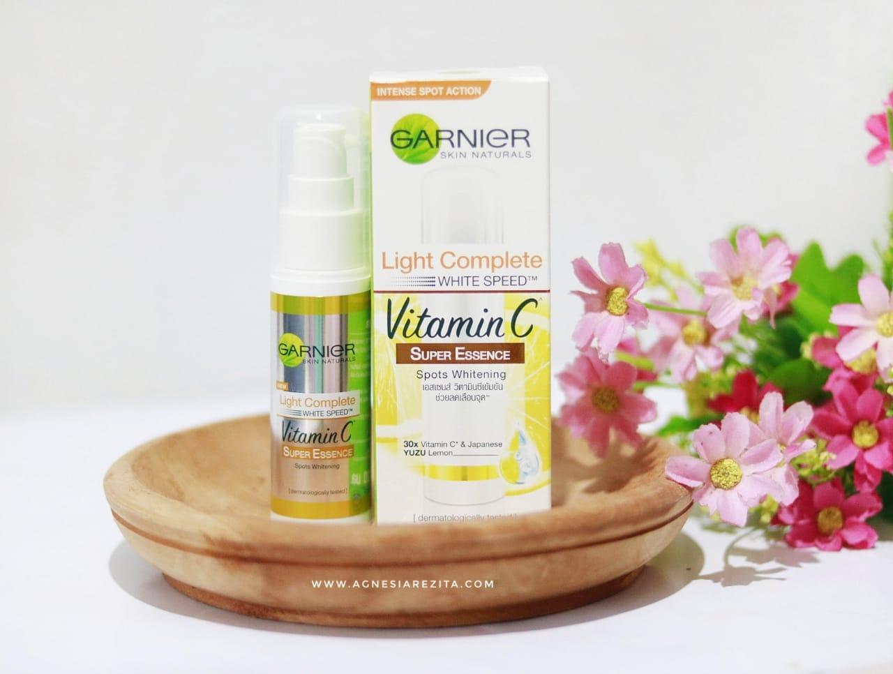 Review Garnier Light Complete Super Essence Bekas Jerawat Hilang Dalam 2 Minggu Agnesiarezita Beauty Blogger Medan