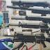 Personel TNI Koramil Batom dan Warga Amankan KSB Beserta Lima Senjata Api