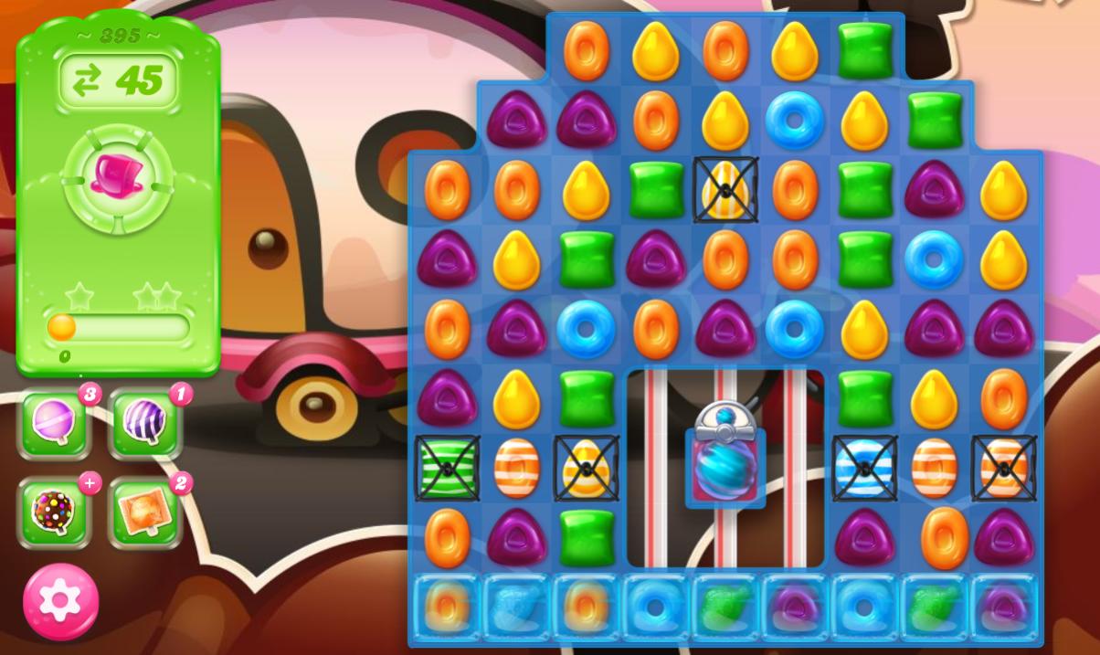 Candy Crush Jelly Saga saga 395