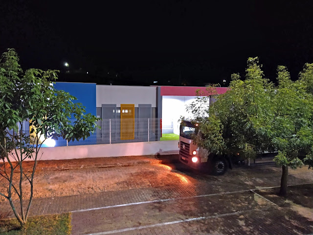 Creche Raimundo da Silva no distrito de Umari, Bom Jardim, Pernambuco