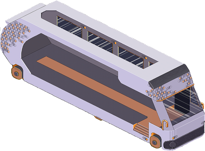 Info Bus moderno HABBO