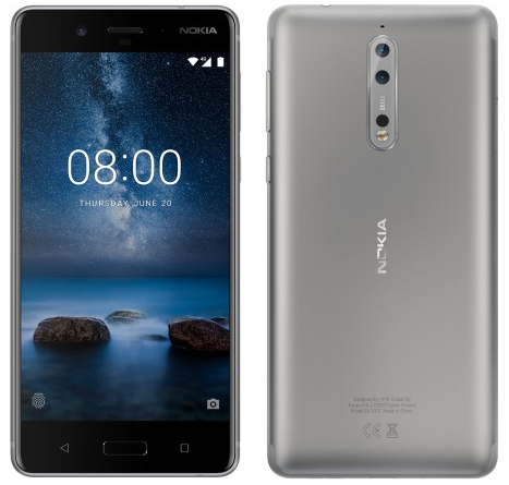 Nokia 8 Announced, True Nokia Flagship Featuring ZEISS Optics, IP54 Certification