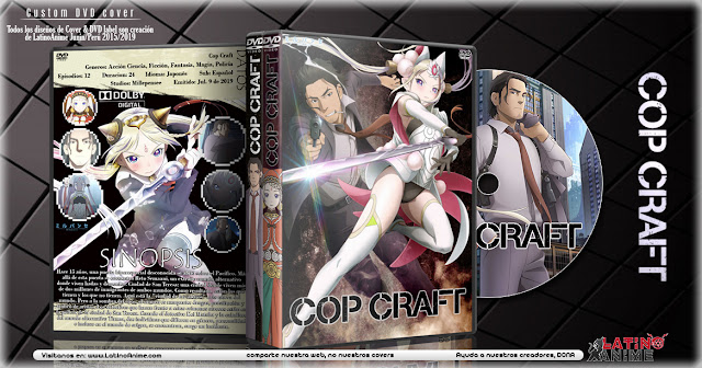 Cop Craft | Cover DVD |