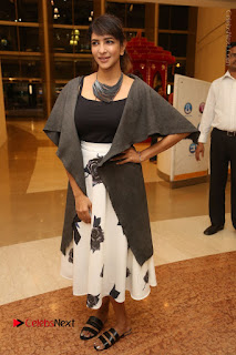 Actress Lakshmi Manchu Pos at Asian Para Badminton Championship Winners Felicitation Ceremony  0069.JPG