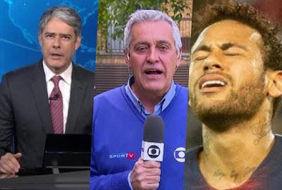Bonner, Mauro Naves e Neymar
