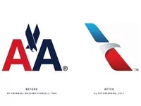 The registered logo of American Airlines