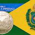 7 DE SETEMBRO - Curiosidade das moedas do  1º Centenário da independência do Brasil.