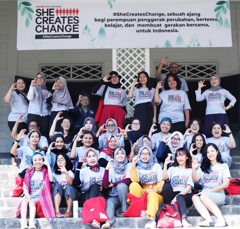 #SheCreatesChange Green Camp dan Lahirnya Sumpah Pemudi 2019