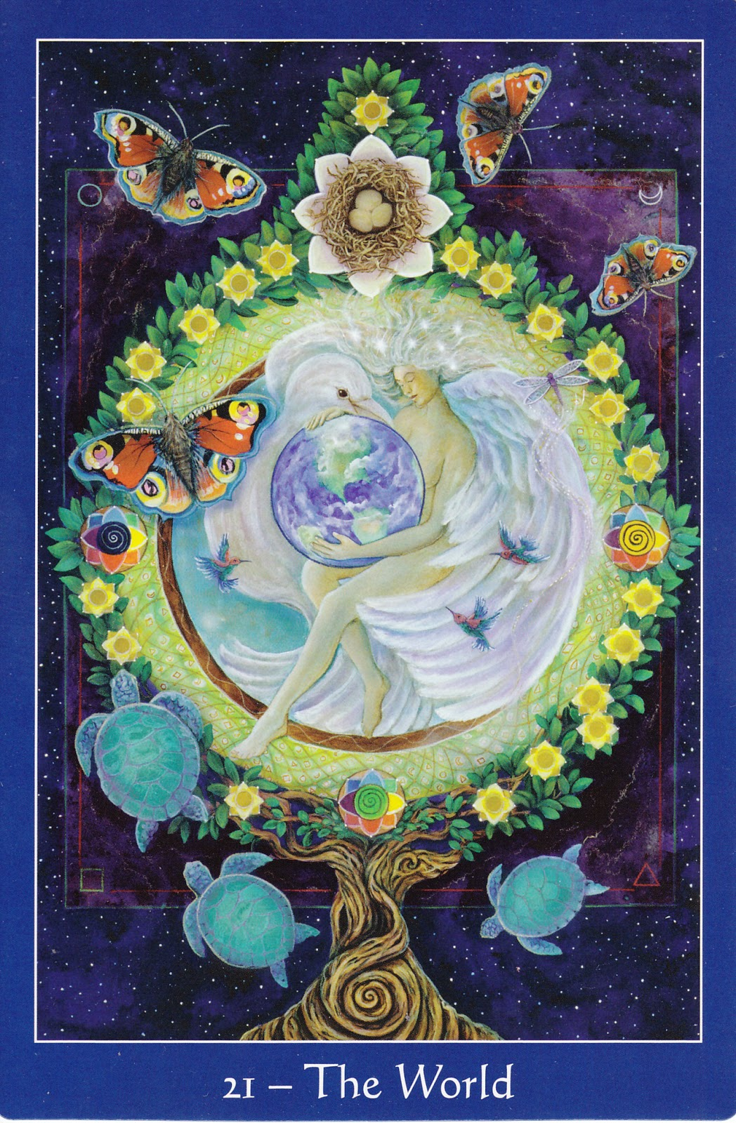 Rowan Tarot December 2012: Rowan Tarot: December 2012