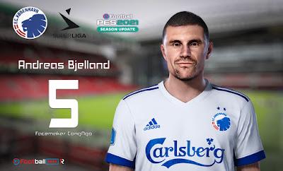 PES 2021 Faces Andreas Bjelland by CongNgo