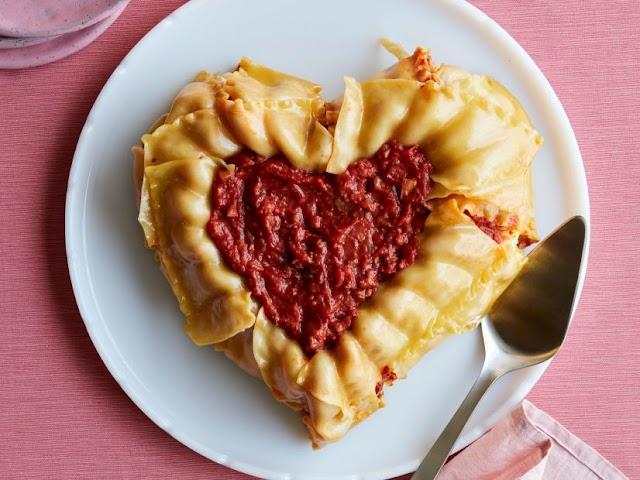 Heart-Shaped Lasagna Bundt