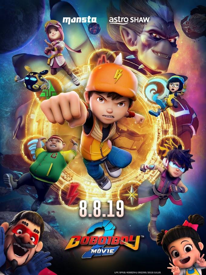 BoBoiBoy Movie 2 (2019) WEB-DL [ English DD5.1] 480p, 720p & 1080p HD