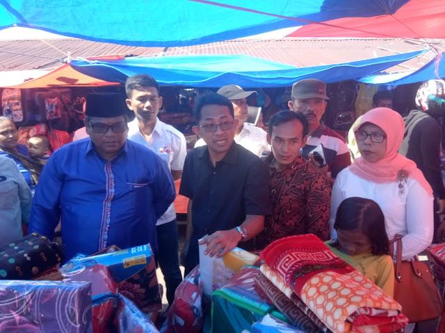 Pasca Terbakar, Pasar Lubuk Alung Dikunjungi IKAPPI Pusat