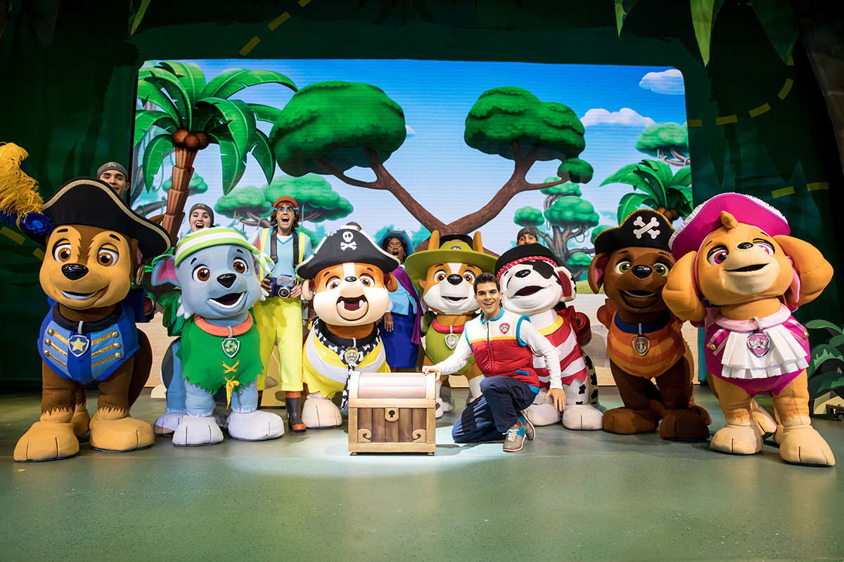 """NickALive!: PAW Patrol Live! """"The Great Pirate Adventure ..."""