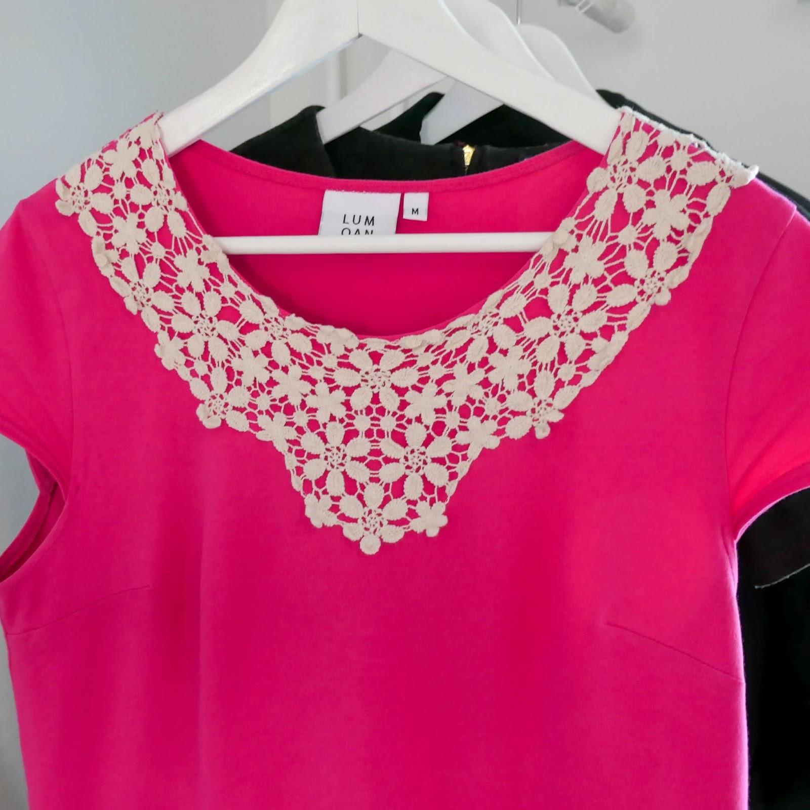 Lumoa mekko pinkki