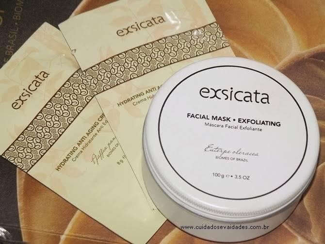 Máscara Facial Esfoliante Exsicata