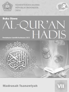 Al-Qur'an Hadis Buku Guru Kelas 7-VII Kurikulum 2013 Revisi