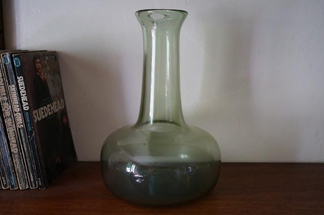 un vase de Claude Morin verre dieulefit glass