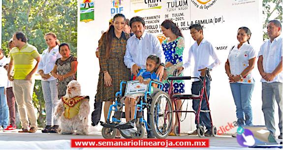 En Tulum se atiende a ciudadanos y visitantes con discapacidad: Víctor Mas Tah
