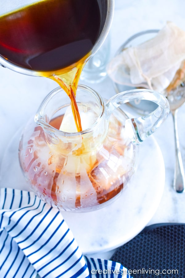 How to make basic iced tea at home