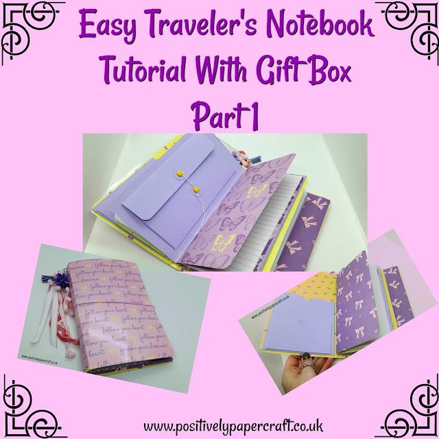 Easy travellers notebook tutorial