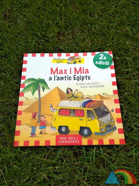 Portada del libro Mas y Mia en Egipto de la editorial La Galera