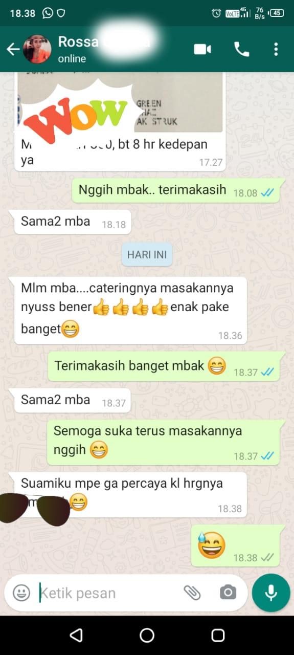 Catering Harian Enak Banyumanik Tembalang Gedawang Semarang