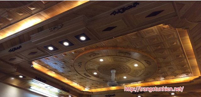 trần gỗ pơmu