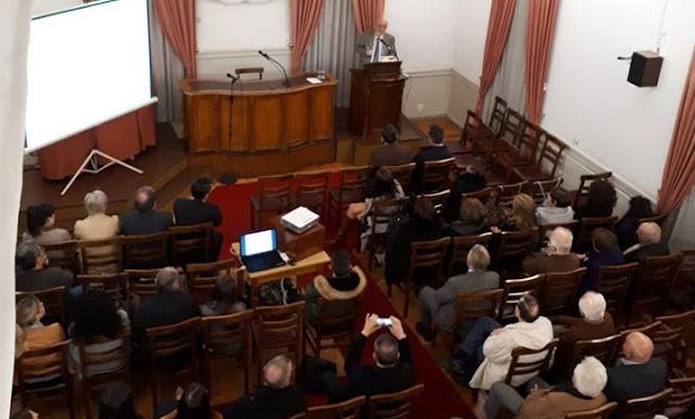 """Εντυπωσίασε το ακροατήριο ο Αλέξης Τότσικας με τους  """"Μύθους του Αίσωπου στη λαϊκή & λόγια παράδοση"""""""
